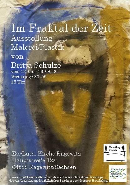 """Vernissage Ausstellung """"Im Fraktal der Zeit"""" @ Kirche Ragewitz"""